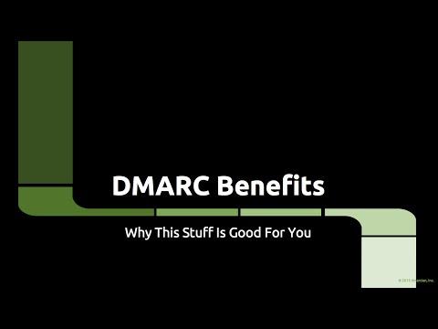 DMARC - Benefits
