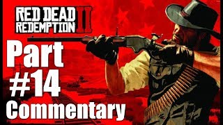 Red Dead Redemption 2 Walkthrough Part 14 Commentary Gameplay Video Lets Play 1080P 60 FPS