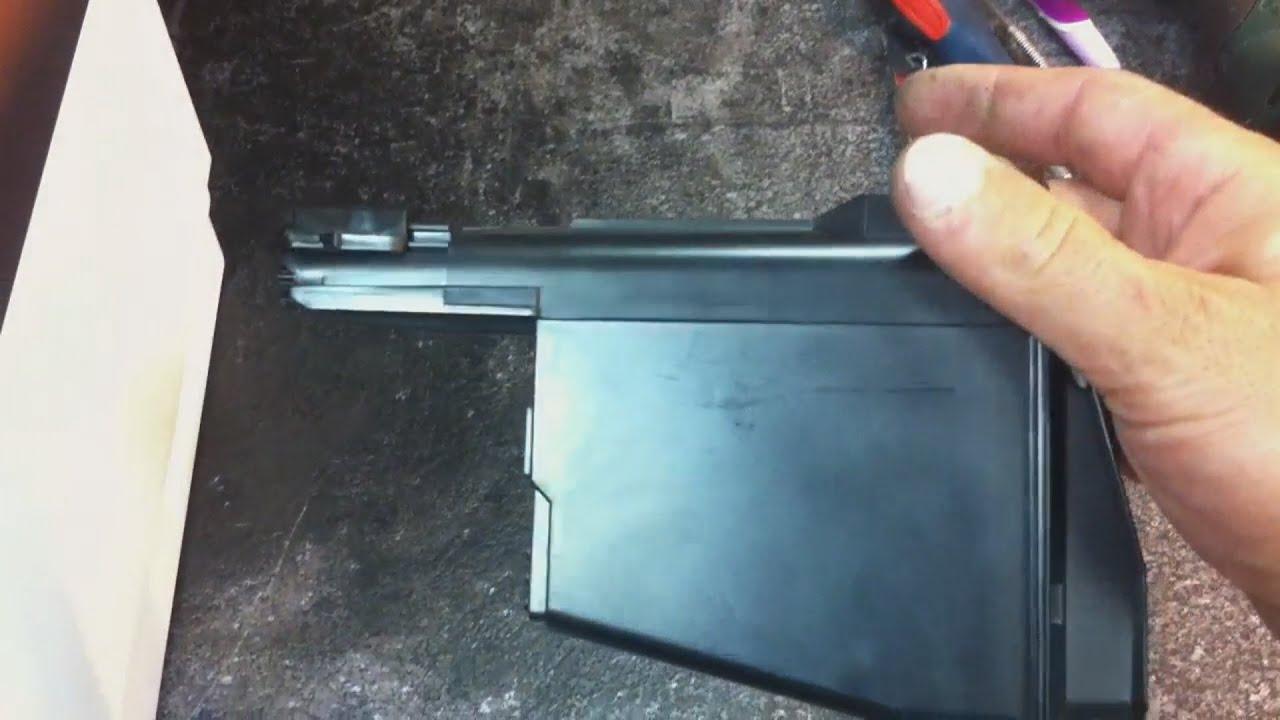Ремонт тонер-картриджа Kyocera TK-1110 (1120) - YouTube
