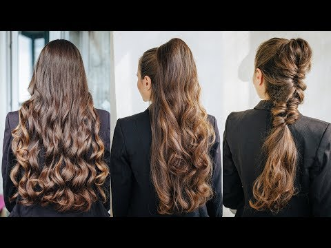 How to Create 3 Super Easy Chick Hairstyles for Long Hair