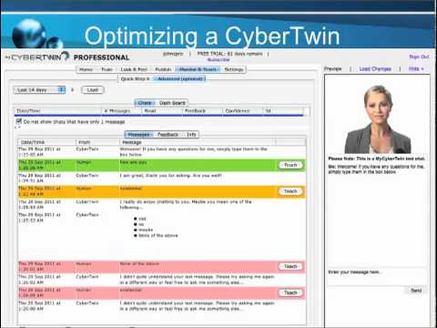 MyCybertwin - Intelligent Agents that Chat with Real People