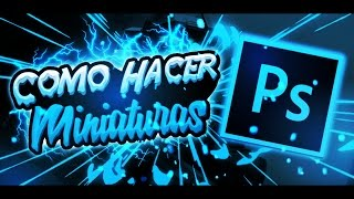 Como hacer MINIATURAS en ANDROID//Ps Touch//AndroidEnergy