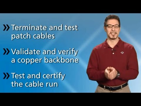 How to Terminate and Test Copper Cable
