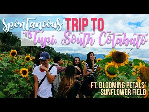Trip to Tupi, South Cotabato (ft. Blooming Petals Sunflower Field)