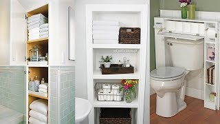 13 Big Ideas for Small Bathroom Storage