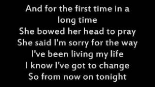 Carrie Underwood-Jesus Take the Wheel + Lyrics