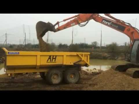 Agri-Hire's Industrial Dump Trailer