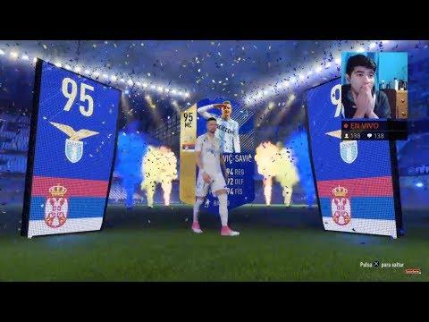 12 TOTS ASEGURADOS CALCIO Y LIGUE 1!!!! Y MUCHOS SOBRES - FIFA 18 EN DIRECTO