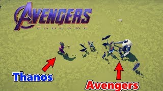 THANOS VS. AVENGERS || Totally Accurate Battle Simulator (TABS)