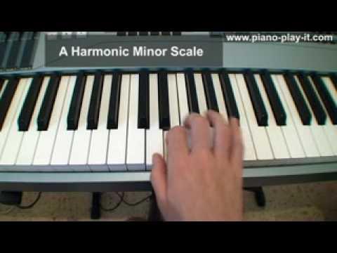 Melodic Minor Scale on Piano - A Free Piano Lesson - YouTube