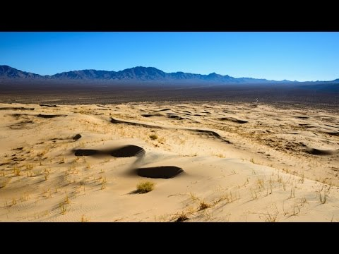 Epic Drone Footage in Mojave Desert - DJI Phantom 3 Professional 4K -