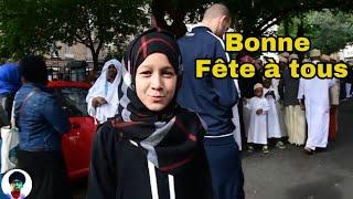 الشباب يقدمون تهنئة بمناسبه عيد الفطر المبارك🇸🇩 من مدينة باريس