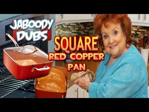 SQUARE Red Copper Pan Dub