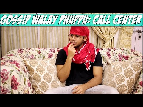 Gossip Walay Phuppu: Call Center! (Comedy Skit)