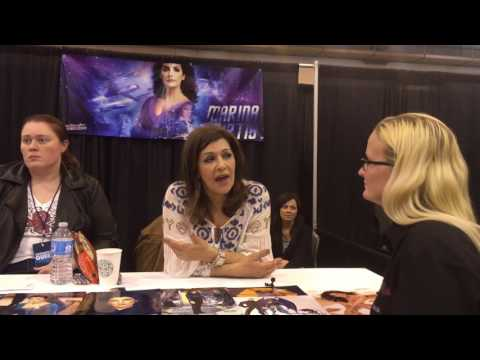 Marina Sirtis (Deanna Troi) Interview at Space City Comic Con 2016