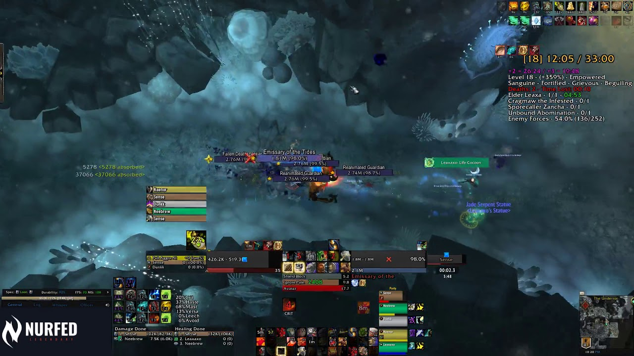 Protection Warrior Mythic Guide By Lepan Battle For Azeroth