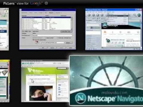 Netscape Navigator 9 rodando no windows 7