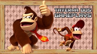 VIKINGSTREAM | DONKEY KONG COUNTRY SPEEDRUN GLITCHS E MOVIMENTAÇÃO + crash 3