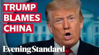 Donald Trump claims China could have stopped the coronavirus pandemic