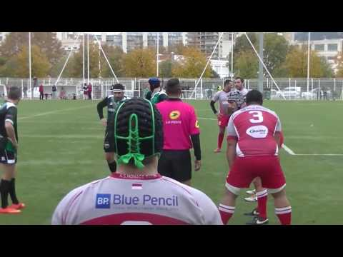 Rugby Honneur US Mourillon vs Monaco Match Championnat Toulon Live TV sports 2016/2017