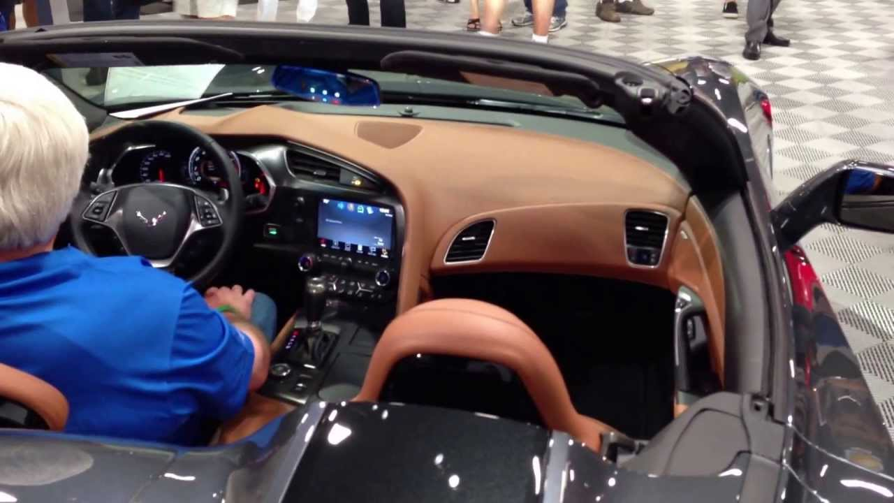 2014 Corvette Stingray Convertible Cyber Gray Metallic
