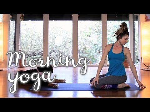 Morning Yoga 10 Minute Stretch & Strengthen Sequence