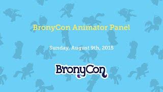 BronyCon Animator Panel