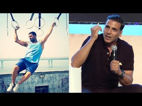 Akshay Kumar's BEST Fitness Tips