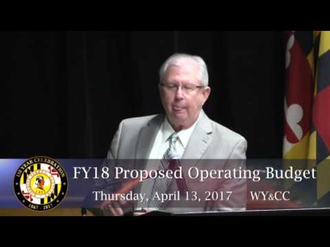 Wicomico County Executive's Proposed Budget