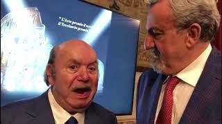Campione di pugliesità, Lino Banfi premiato con la Vigna d'Argento
