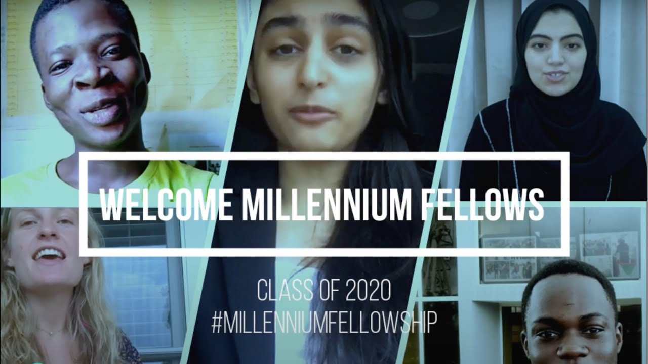 Meet the #MillenniumFellowship Class of 2020!