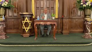 """יחיאל נהרי הבדלה מוצ״ש חוקת/בלק תש""""פ מקאם עג׳ם Yechiel Nahari Hathaway shul Havdala"""