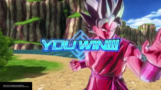 Ssgss kaioken goku vs ssgss vegeta dragon ball xenoverse 2