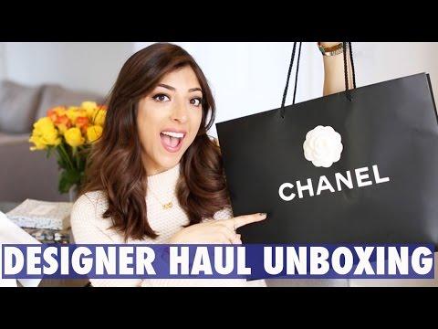 DESIGNER UNBOXING + HAUL: CHANEL Bag & Valentino Shoes! | Amelia Liana