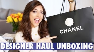 DESIGNER UNBOXING + HAUL: CHANEL Bag & Valentino Shoes! | Amelia Liana