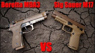 Sig Sauer M17 vs Beretta M9A3: Did The Army Make The Right Choice?