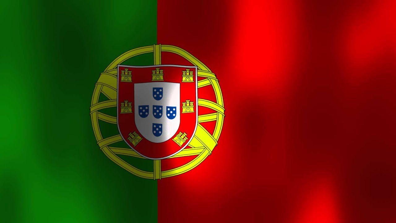 Wavy Flag Of Portugal Youtube