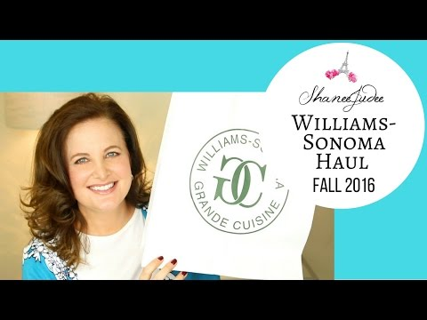 Williams-Sonoma Haul Fall 2016   ShaneeJudee