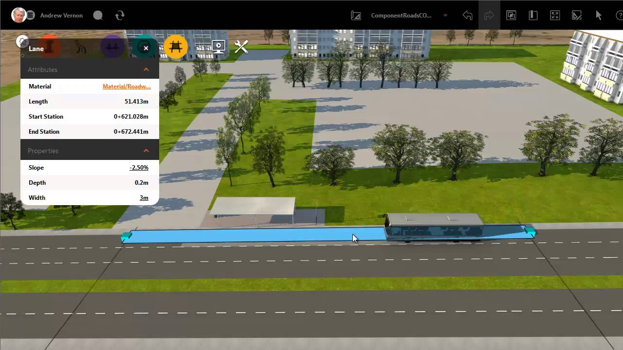 how to build a road on archicad