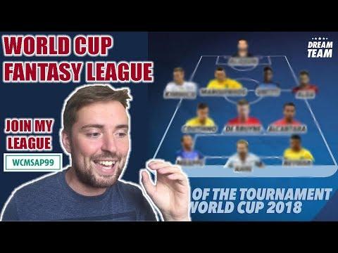 WORLD CUP TASY FOOTBALL 2018! JOIN MY LEAGUE!