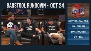 Barstool Rundown - October 24, 2017