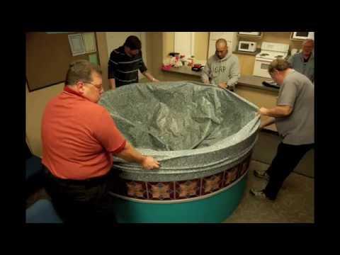 Baptism Timelapse – Portable Baptistry