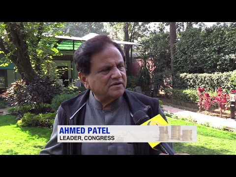 Union Budget 2017: Exclusive conversation with Senior Congress leader Ahmed Patel