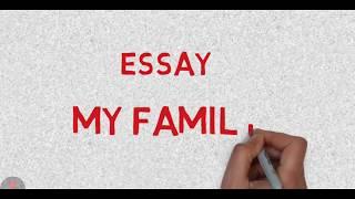 write essay on my family