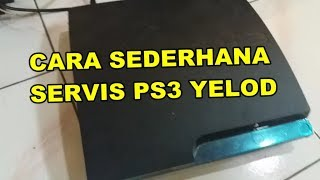 Cara Sederhana Atasi PS3 slim yelod karena overhet kepanasan