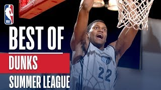 Best Dunks in NBA Summer League History Video