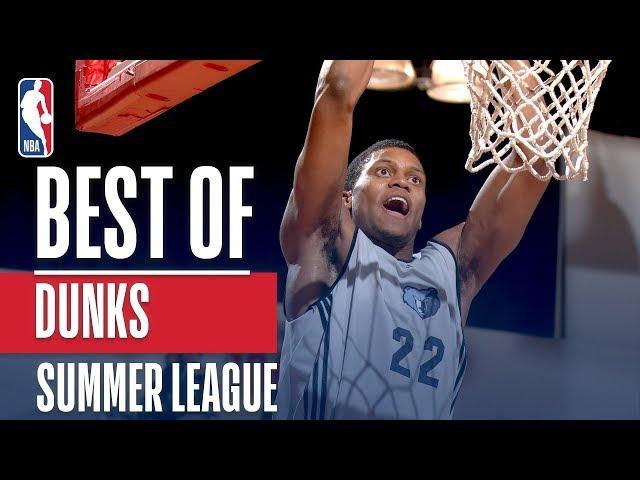 Best Dunks in NBA Summer League History
