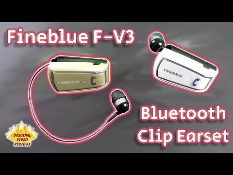 Fineblue F-V3 Bluetooth Clip Earset (Review)