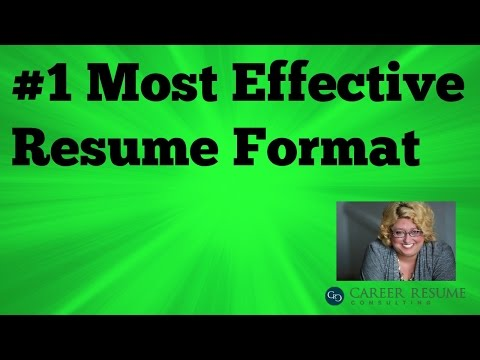 Executive Resume Tip: How To Write A Functional Resume