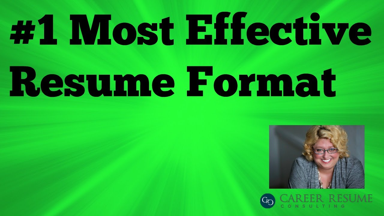 executive resume tip how to write a functional resume youtube